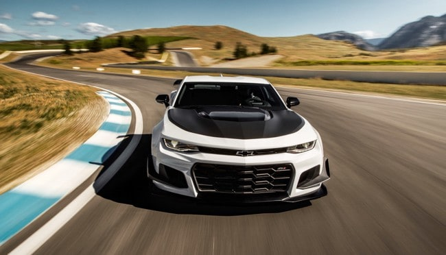 The 2018 Chevrolet Camaro ZL1 1LE Meets Area 27