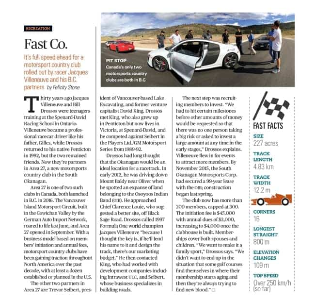 Latest Press: feature in BC Business Magazine